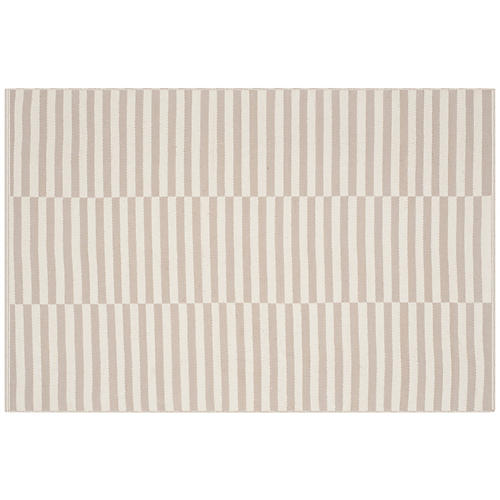 Pennswood Rug, Ivory/Light Gray