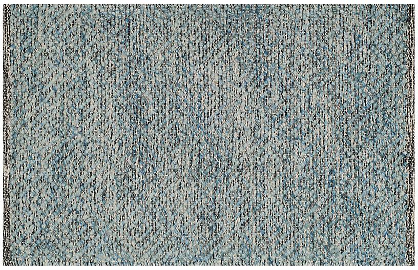 Weslayan Rug, Blue