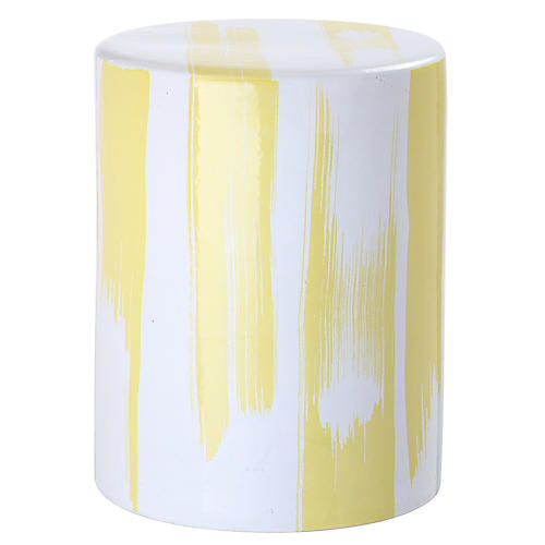 Baylee Garden Stool, Yellow
