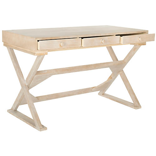 foligno desk natural