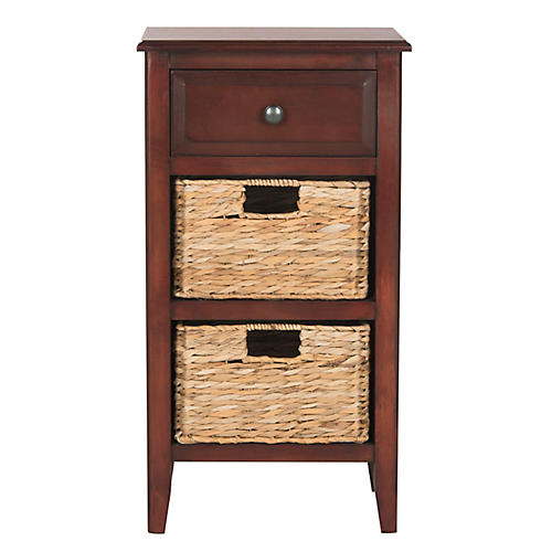 Everly Nightstand, Cherry