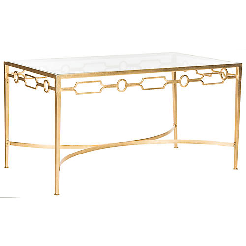 Arlow Coffee Table, Gold