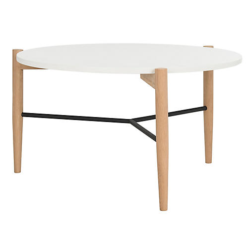 Hessey Coffee Table, White
