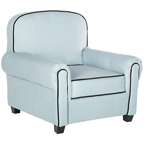 Hess Kids' Club Chair, Blue