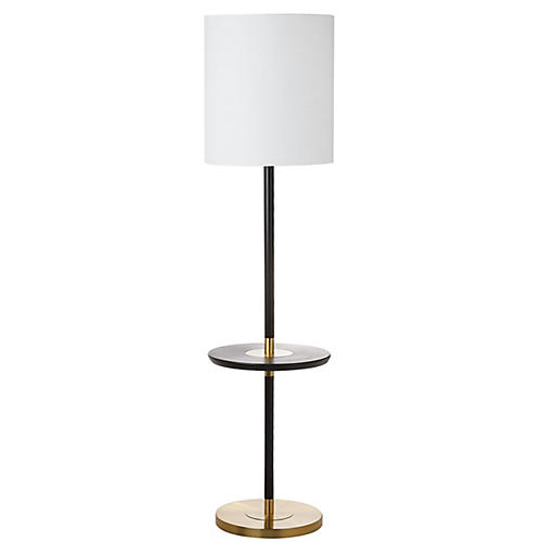 Hanvey Floor Lamp, Black