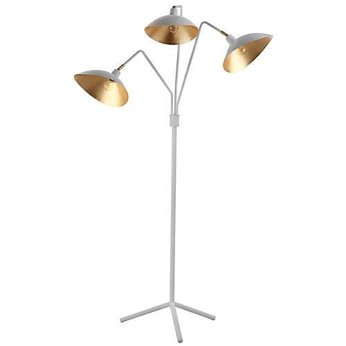 Ilgen Floor Lamp, White