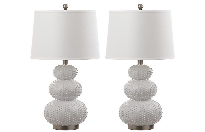 S 2 Cantino Table Lamps White