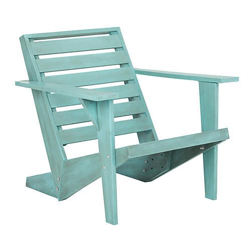 Lanty Adirondack Chair, Blue