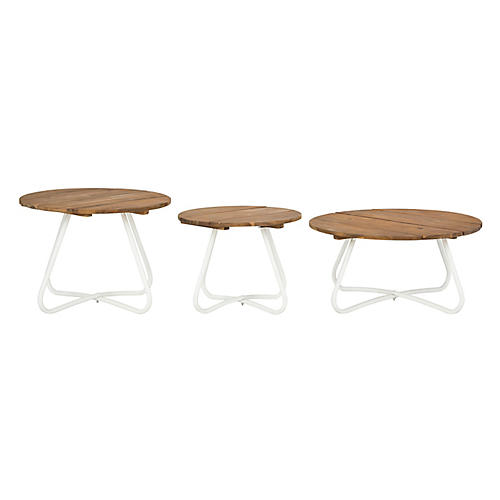 Asst. of 3 Henderson Coffee Tables, Teak