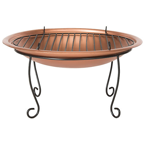 Cayman Fire Pit, Copper
