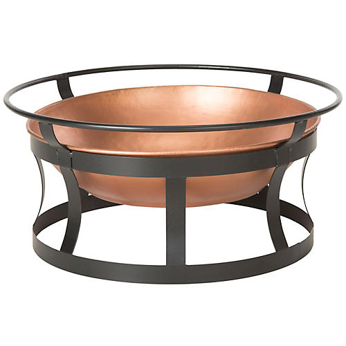 Bonair Fire Pit, Copper