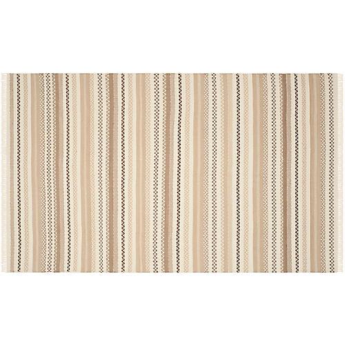Akard Flat-Weave Rug, Beige