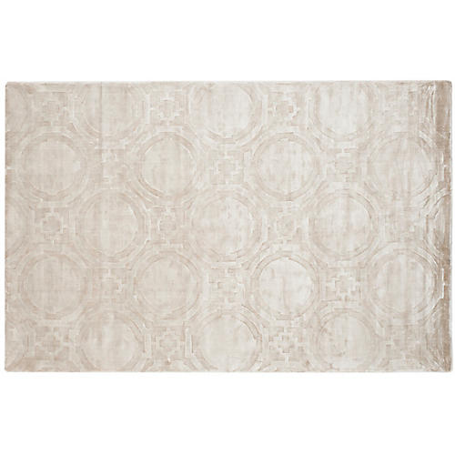 Libbey Rug, Dark Cream