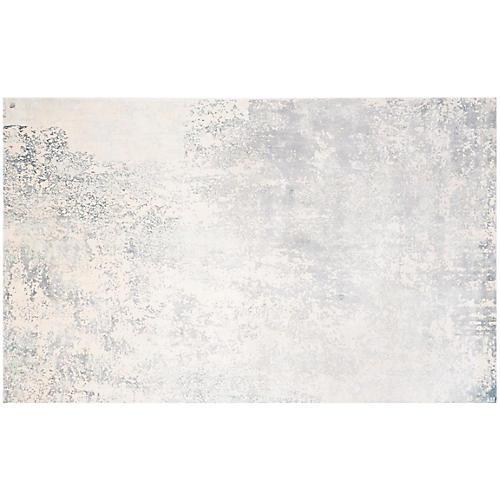 Hutton Rug, Slate/Ivory