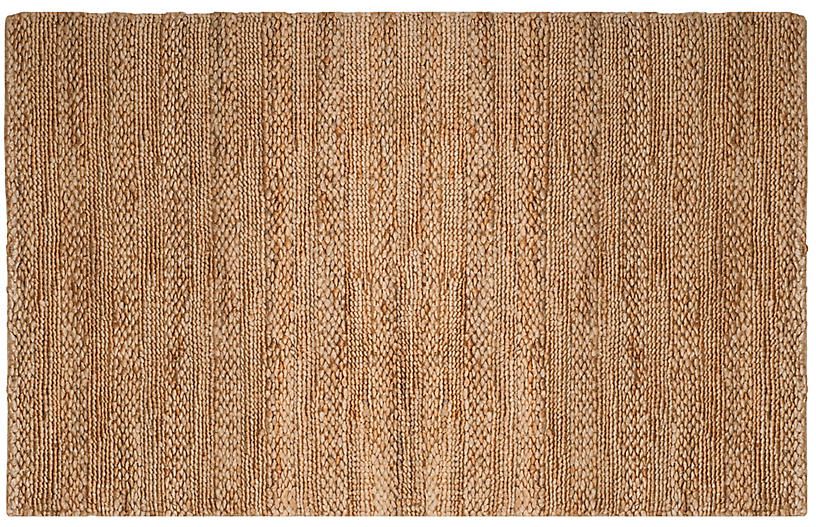 Ebury Jute-Blend Rug, Natural
