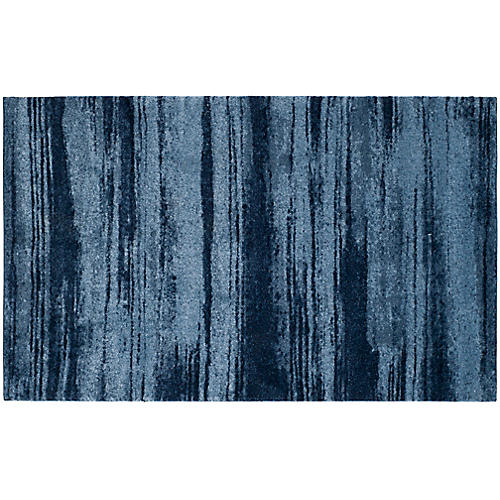 Vassar Rug, Light Blue/Blue