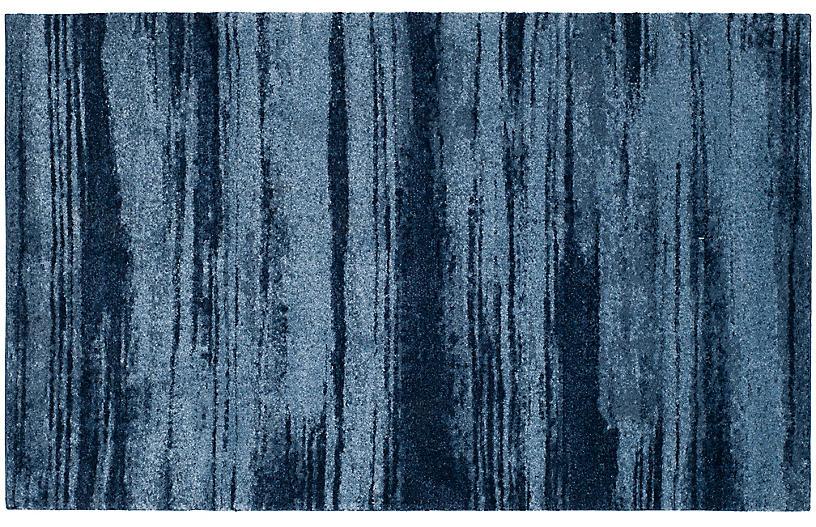 Vassar Rug, Light Blue/Blue