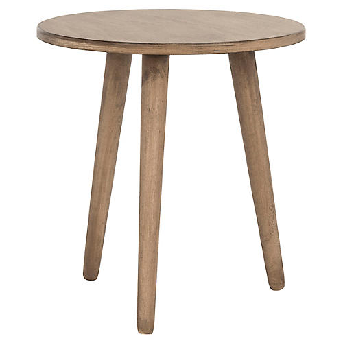 Orion Side Table, Chocolate