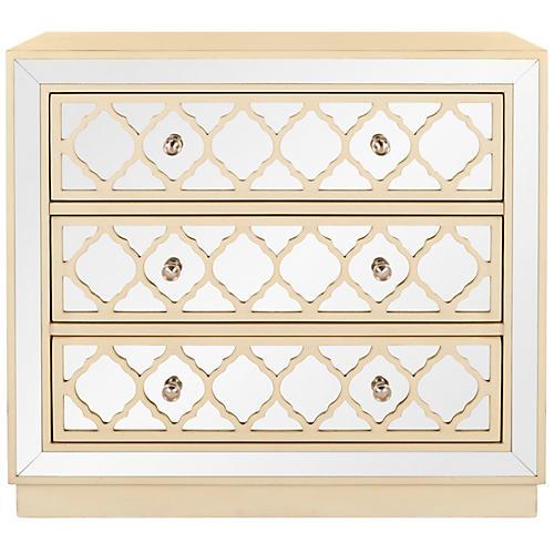 Amherst Dresser, Antiqued Beige