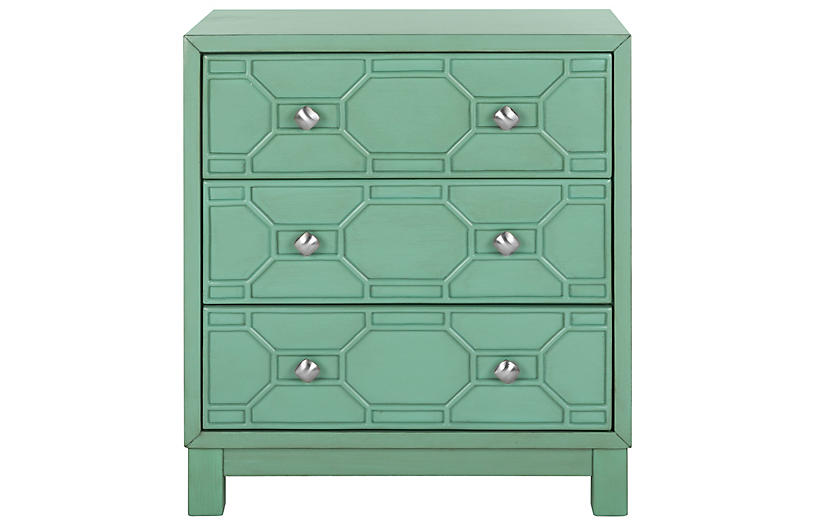 Lille Dresser, Turquoise