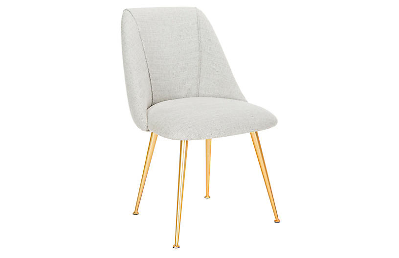Bristol Armchair, Light Gray