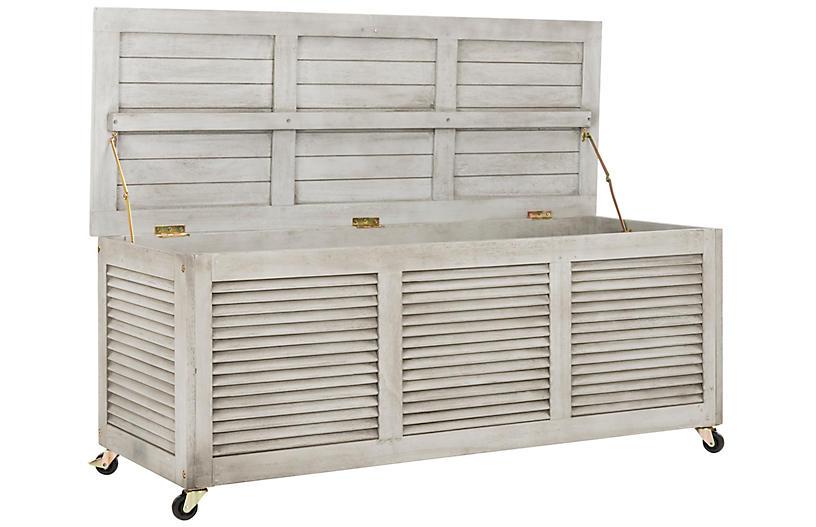 Adelaide Outdoor Storage Box Gray
