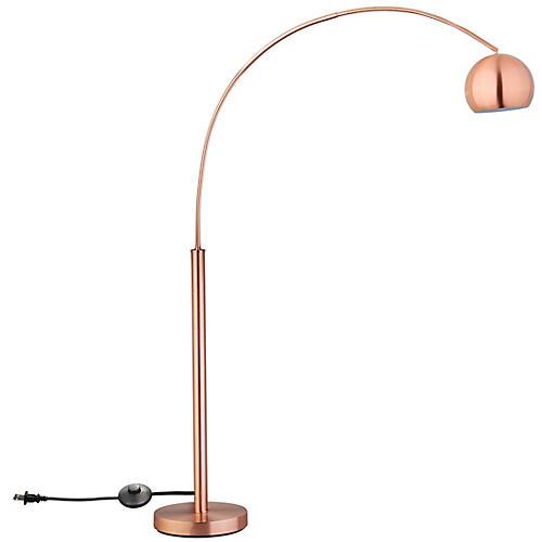 Caruso Floor Lamp, Copper