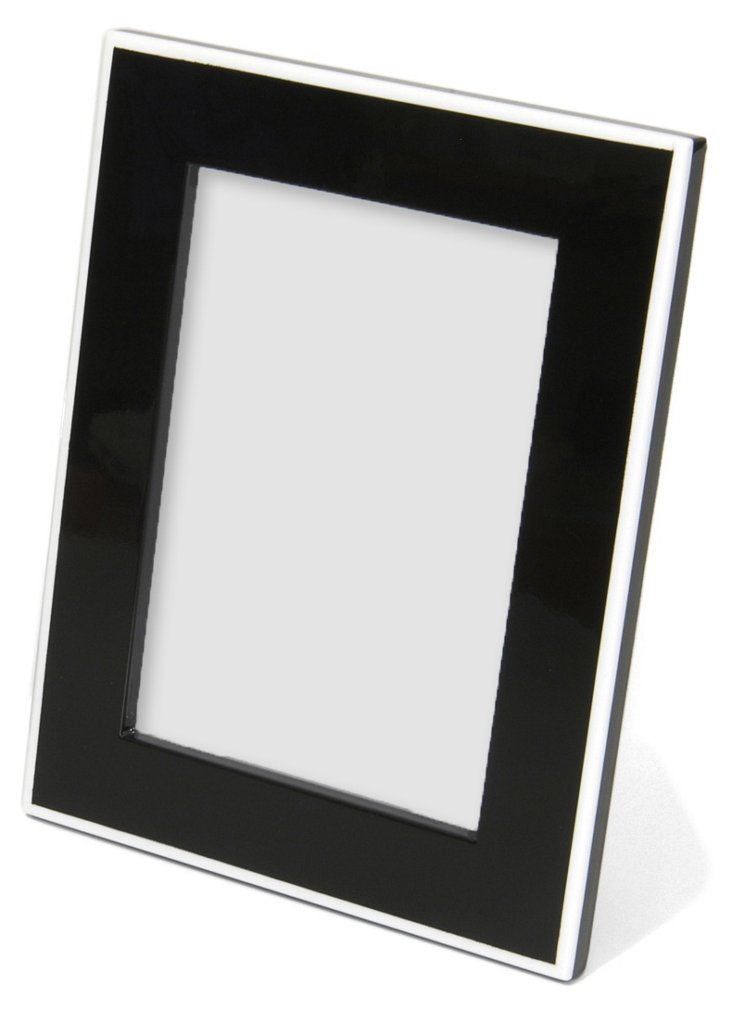 Elle Lacquer 5x7 Frame, Black