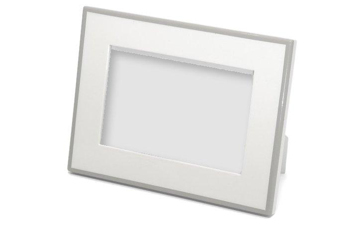 Elle Lacquer Frame, 4x6, White