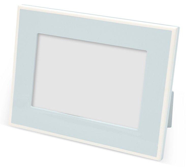 4x6 Elle Lacquer Frame, Blue