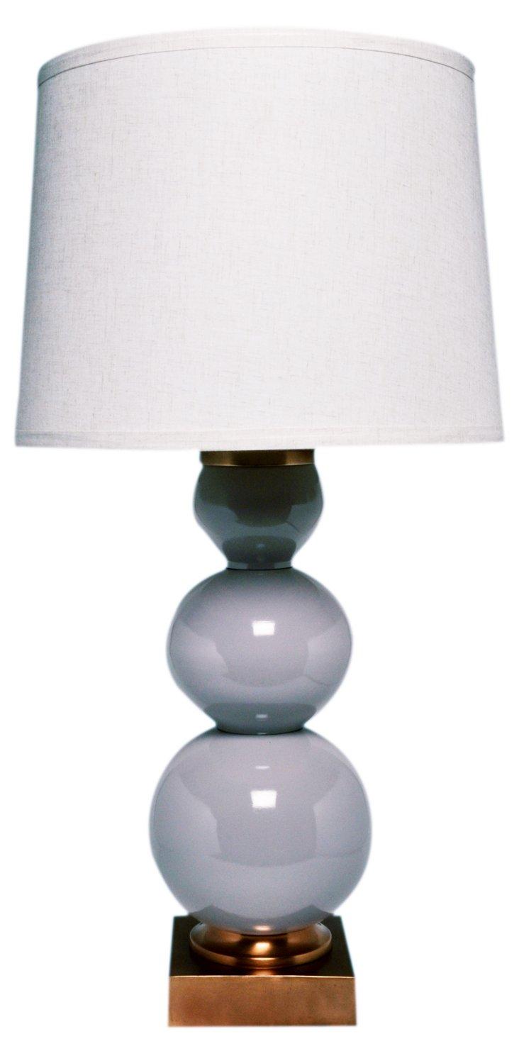 Prairie Table Lamp, Gray