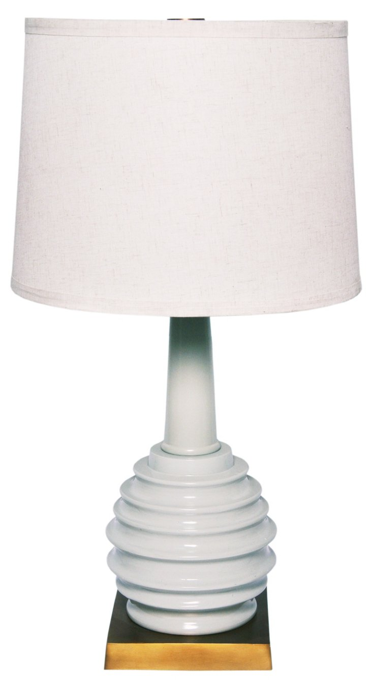 Retford Table Lamp, Gray
