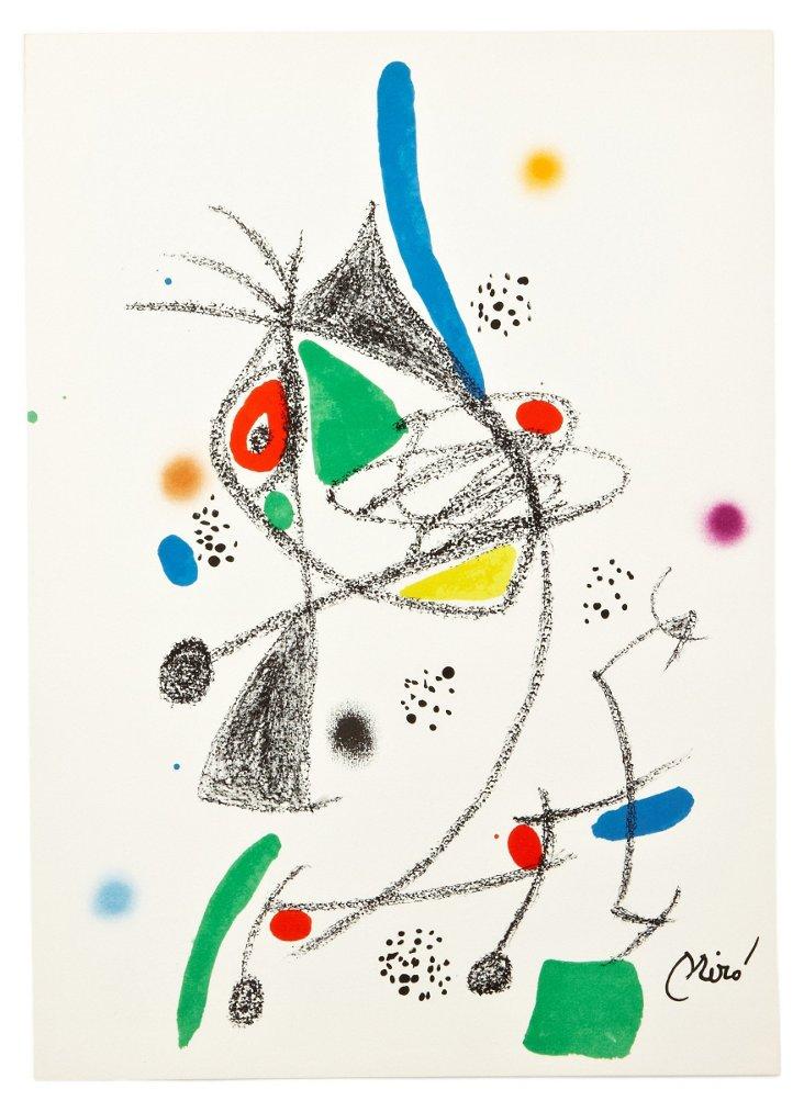 Joan Miró,  Variaciones Acrósticas IX