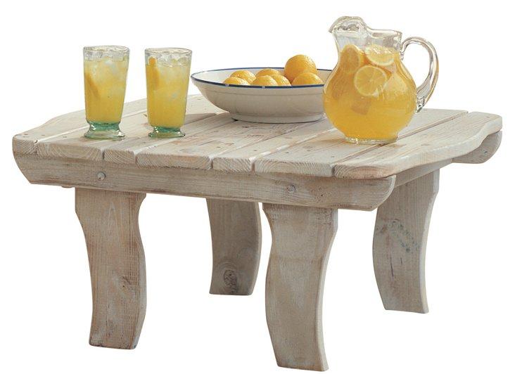 Companion Cocktail Table, Whitewash