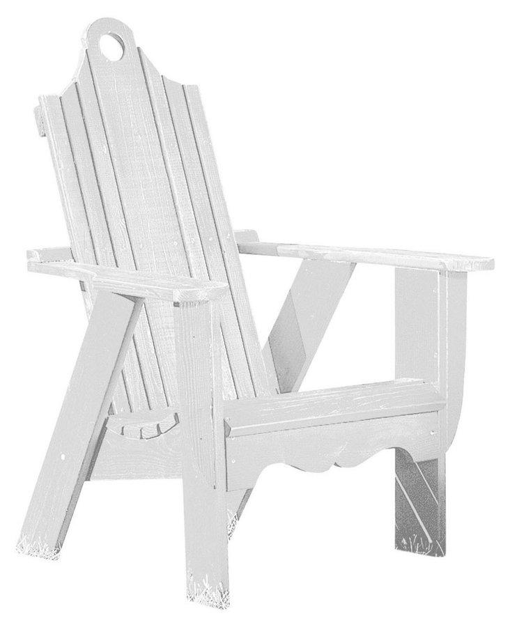Bridgehampton Chair, White
