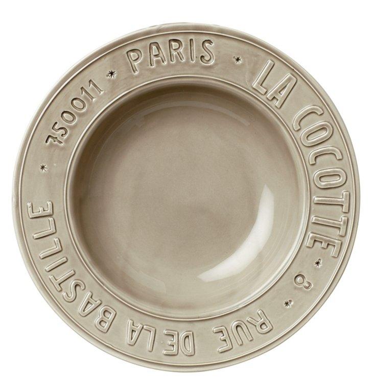 Metro Paris Pasta Bowl, Taupe