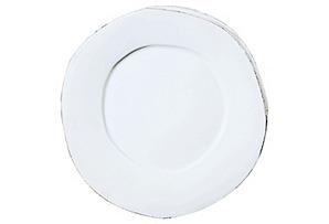 Lastra Dinner Plate, White*