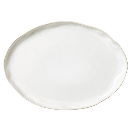 Forma Large Oval Platter, Cloud