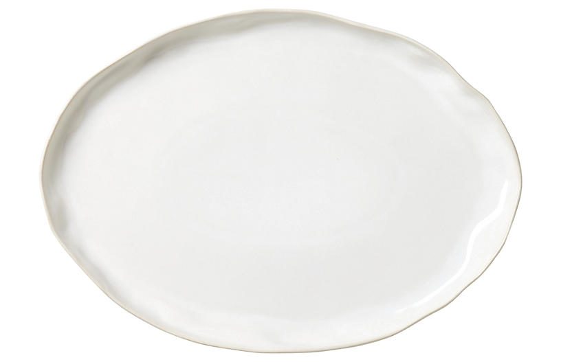 Forma Large Oval Platter, Cloud