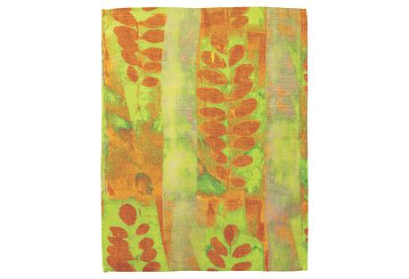 Joyosphera Acacia Guest Towel, Orange