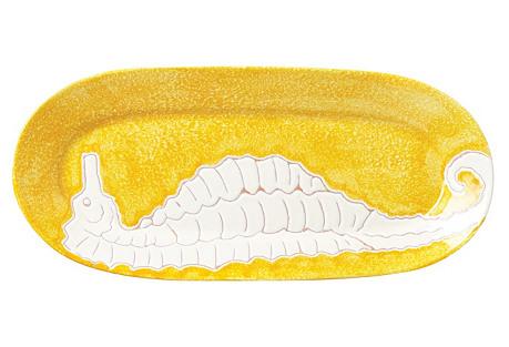 Bel Mare Seahorse Oval Platter