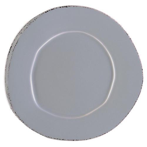 Lastra Dinner Plate, Gray