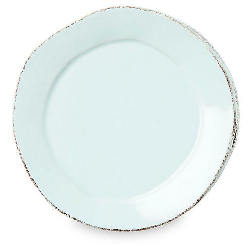 Lastra Salad Plate, Aqua
