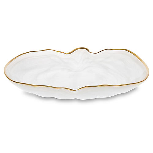 Pumpkin Platter, White