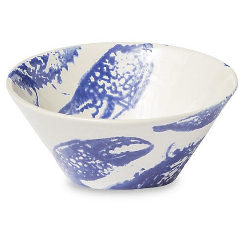 Costiera Crab Bowl, Blue