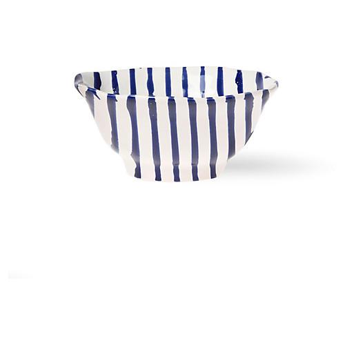 Net & Stripe Stripe Berry Bowl, White