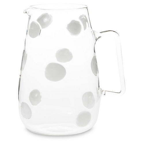 Drop Pitcher, Clear
