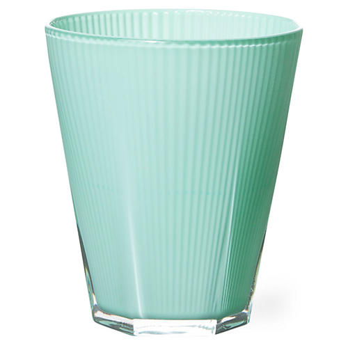 S/4 Accordion Tumblers, Green