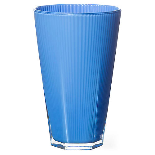 S/4 Accordion Highballs, Blue