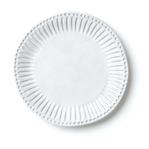 Incanto Stripe European Dinner Plate, White